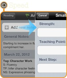 Amazing app for recording notes from reading/writing conferences! I can't wait to use it!