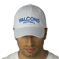 Falcons Football Adjustable Hat Embroidered Hats https://www.fanprint.com/licenses/air-force-falcons?ref=5750