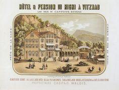 Hotel & Pension du Righi Vitznau – ca. 1890