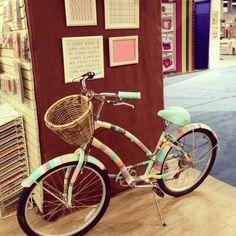 Washi tape bicycle!