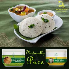 An Idli fills you up with fewer calories! As it is steamed, fat content is low and it is easily digestible. Use of dal and rice in idli is a good combination as the amino acids in them complement each other. #Idli #SouthIndianBreakfast #IdliBatter #ReadyMix https://www.aavaaram.com/product-d…/batter-idly-dosa-wet.php