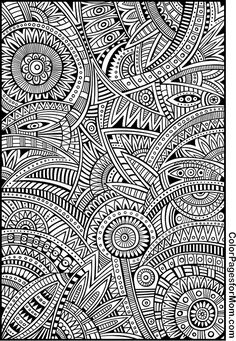 Doodles Coloring Page 82