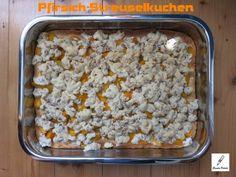Pfirsich-Streuselkuchen