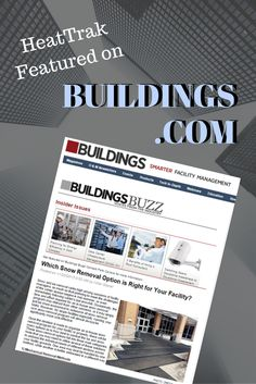 We're thrilled to share that an article written by our CEO, Hillel Glazer, was recently featured on the Buildings.com Buildings Buzz Blog! Facility Management, Article Writing, Small Businesses, Buildings, Snow, Education, Small Business Resources, Building, Writing Papers