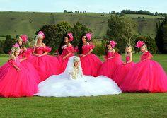 My big fat gypsy wedding! My guilty pleasure of reality tv :)