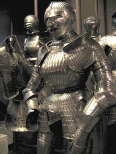 For centuries, Medieval armor played a huge role in the life of European knights. Although the usage of the term 'gothic' in art history can be traced back