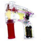 Seifenblasenpistole mit LEDs inkl. 2x Seifenblasen. Mach mit einem einzigen Knopfdruck Seifenblasen ohne Ende. Mehr dazu auf: www.ztyle.de