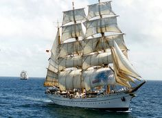 """Barque """"Gorch Fock"""" from Germany"""