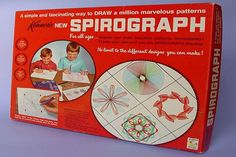 70s toys spirograph - still have mine in it's original box