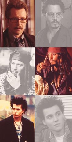 Gary Oldman & Johnny Depp