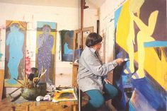 Female Painters, Artist At Work, Studios, Scale, Artists, Pop, Painting, Inspiration, Creativity