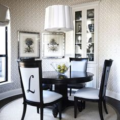 Spaces Trellis Wallpaper Design, Pictures, Remodel, Decor and Ideas - page 6