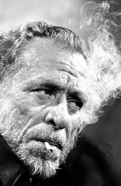 """We can only blame ourselves, so come sit with me in the dark. It's half-past nowhere, everywhere.."" ― Charles Bukowski"