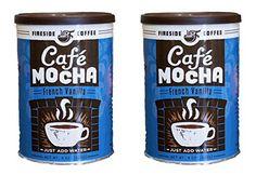 Fireside Instant Flavored Vanilla Coffee (Pack of (French Vanilla) Coffee Pack, Hot Coffee, Instant Coffee, French Vanilla, Mocha, Packing, Amazon, Link, Bag Packaging