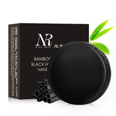 2017 New Soft Purify Blackhead Clean Carbon Handmade Bamboo Charcoal Soap Oil Control 40g