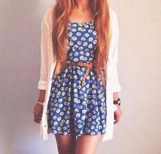 Perfect for dressing up for school in the spring