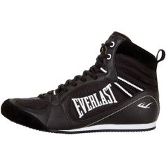Everlast Lo-Top Pro Competition Boxing Shoes - Black #Everlast