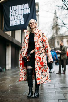 Gorgeous coat! - Memorable street style looks from London Men's Fashion Week