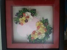 Punch craft photo frame