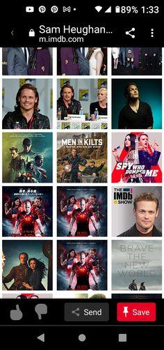 Outlander News, Men In Kilts, Sam Heughan, Brave, World, Movie Posters, Movies, Films, Film Poster