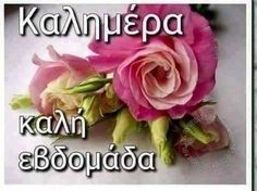 Kalimera. Good week Greek Language, Good Week, Mom And Dad, Good Morning, Beautiful Pictures, Buen Dia, Bonjour, Greek, Pretty Pictures