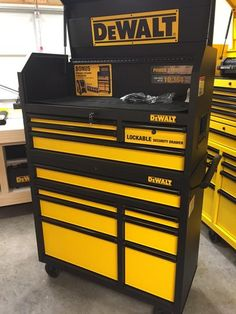 DEWALT 40 in. 11-Drawer Black Tool Chest and Rolling Tool Cabinet Set DWMT78074D at The Home Depot - Mobile