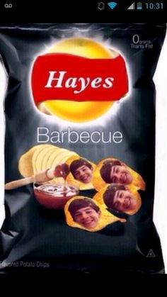 Hayes bbq chips c;