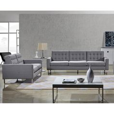 Found it at AllModern - Angela Sofa and Loveseat Set