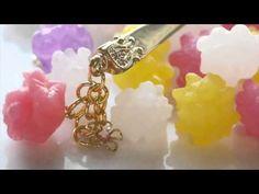 おゆまる 金平糖の作り方 Konpeito Candy Kanzashi - YouTube