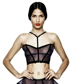 Cantilever Mesh Bustier