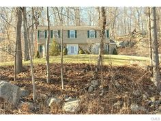List Price: $399,900 - Move right into this comfortable 4 bedroom, 2.5 bathroom Colonial on 6.41 acres. Home has a nice sized eat in kitchen with black granite counters, stainless steel appliances (newer Asco dishwasher) and a large family room with a bay window, fireplace and hardwood floors. Access to blue stone patio from both family room and kitchen. Living room has a large bay window, hardwood floors and 2 of sets French doors.