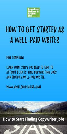 Learn the steps you need to take to attract clients, find copywriting jobs and become a well-paid writer. How Do I Get, How To Become, Freelance Sites, Making Words, Writing Jobs, Writers Write, Writing Practice, Free Training, Pen And Paper