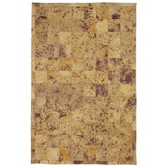 Somette Mad Coww Golden Tan Area Rug (5' x 7'9) - Overstock™ Shopping - Great Deals on Somette 5x8 - 6x9 Rugs