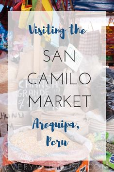 The San Camilo Market was one of my favorite stops in Arequipa, Peru-- but it doesn't get much hype. Here's why I'd recommend adding it to any Arequipa itinerary! Backpacking South America, South America Travel, Machu Picchu, Best Travel Sites, Travel Guide, Titicaca, Peru Travel, Group Travel, Travel Information
