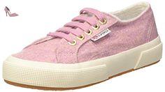 Superga  2750-Woolmelangeu, Pompes à plateforme plate mixte adulte - Rose - rose, 39 EU - Chaussures superga (*Partner-Link)