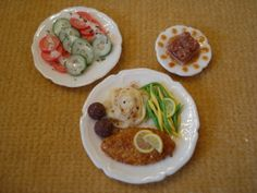 Miniature Fish Dinner by ARose Gallagher