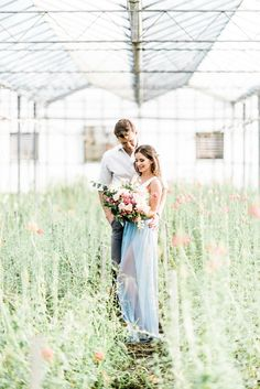 greenhouse engagement shoot