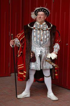 Wax figure of Henry VIII