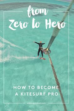 From kitesurf beginner to kitesurf pro: this is all the steps you will need to take after you completed your kitesurf beginners course! Check out the free video series which will help you progress step by step. #kitesurf #beginner #progress #learnkitesurfing