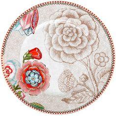 Buy PiP Studio Spring to Life 17cm Plate, Cream Online at johnlewis.com