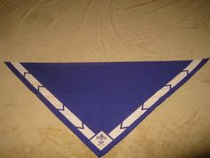 Vintage Boy Scout Neckerchief in Royal Blue - Early 1960s. $6.00, via Etsy. Boy Scout Badges, Neckerchiefs, Boy Scouts, Royal Blue, Vintage, Boys, 1960s, Scouting, Baby Boys
