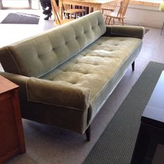 #clickclack #sofa #midcentury #germany #hopehouse #thrift #thriftstore House Foundation, Sofa, Couch, Thrifting, Germany, Mid Century, Shopping, Furniture, Home Decor