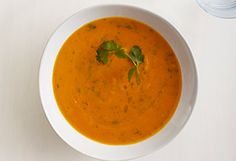 Roasted Sweet Potato and Garlic Soup Recipe by Sarah Britton (My New Roots) for Oprah.com