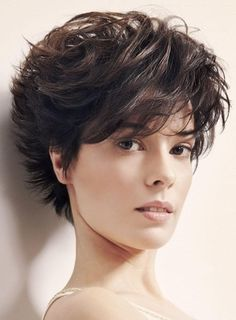 Smart Free Style Fluffy Layered Wavy 100% Human Hair Wig #wigs #prettywighair #humanhairwigs #hair #hairstyle #haircolor #beauty #fashion
