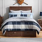 Aiden Stripe Value Comforter Set with Sheets, Pillowcase, Comforter + Sham