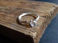 Twig Engagement Ring Alternative Engagement Elf Ring by Nafsika