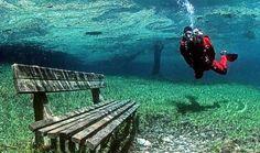 laguna verde chubut argentina