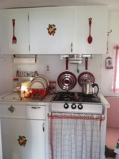Happy camper kitchen