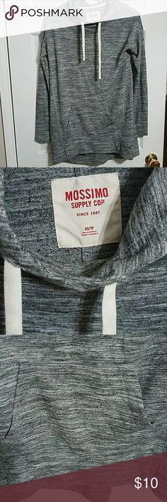 Mossimo hooded sweatshirt In great condition. Very comfortable. Mossimo Supply Co. Tops Sweatshirts & Hoodies