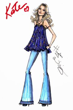 """Kate Moss """"The 'Boho' Look"""" Rimmel London by Hayden Williams 